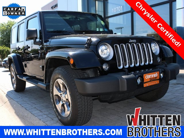 Certified Pre-Owned 2018 Jeep Wrangler JK Unlimited Sahara
