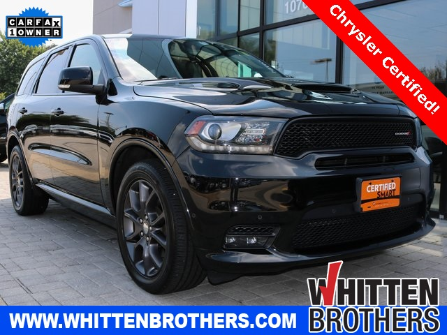 Certified Pre-Owned 2018 Dodge Durango R/T