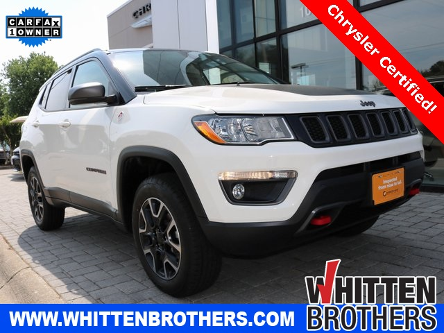 Jeep Certified Pre-Owned >> Certified Pre Owned 2019 Jeep Compass For Sale Whitten Brothers