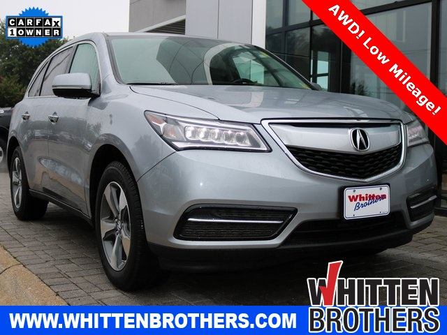 PreOwned Acura MDX For Sale Whitten Brothers - Acura mdx pre owned for sale