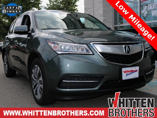 PreOwned Acura MDX For Sale Whitten Brothers - Acura mdx for sale by owner