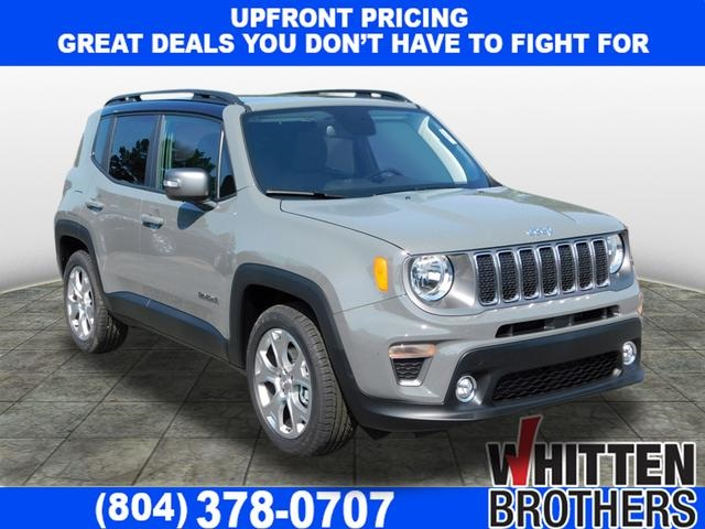 Jeep Renegade Limited >> New 2019 Jeep Renegade Limited Fwd