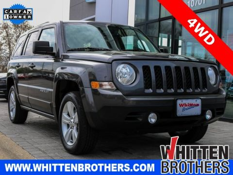 PRE-OWNED 2016 JEEP PATRIOT LATITUDE 4WD