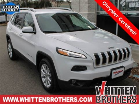 CERTIFIED PRE-OWNED 2017 JEEP CHEROKEE LATITUDE FWD 4D SPORT UTILITY