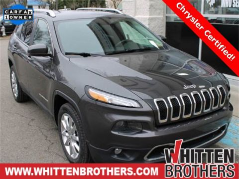 CERTIFIED PRE-OWNED 2015 JEEP CHEROKEE LIMITED FWD 4D SPORT UTILITY