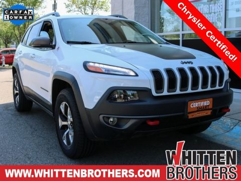 CERTIFIED PRE-OWNED 2015 JEEP CHEROKEE TRAILHAWK 4WD