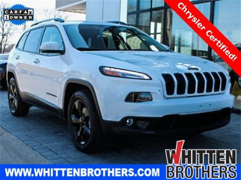 CERTIFIED PRE-OWNED 2016 JEEP CHEROKEE LATITUDE 4WD