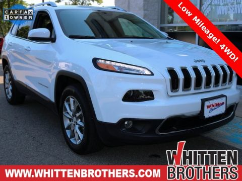 PRE-OWNED 2018 JEEP CHEROKEE LIMITED 4WD
