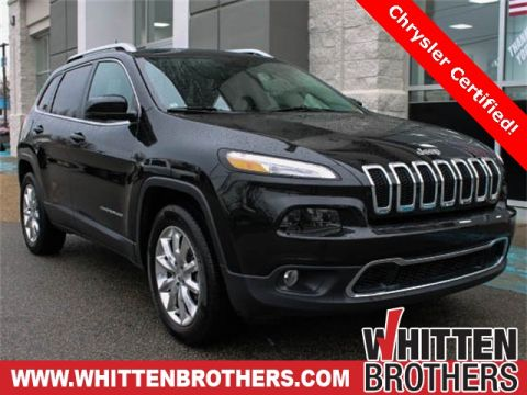 PRE-OWNED 2016 JEEP CHEROKEE LIMITED 4WD