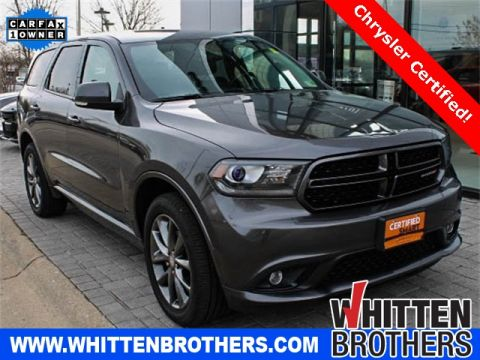CERTIFIED PRE-OWNED 2017 DODGE DURANGO GT AWD