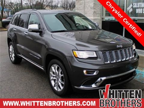 CERTIFIED PRE-OWNED 2015 JEEP GRAND CHEROKEE SUMMIT WITH NAVIGATION & 4WD