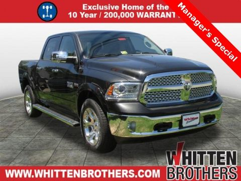 NEW 2017 RAM 1500 LARAMIE WITH NAVIGATION & 4WD