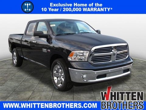 NEW 2018 RAM 1500 BIG HORN CREW CAB 4X4 6'4 BOX