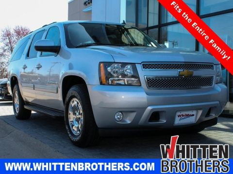 PRE-OWNED 2014 CHEVROLET SUBURBAN 1500 LT RWD 4D SPORT UTILITY