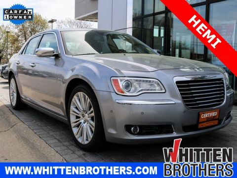 CERTIFIED PRE-OWNED 2013 CHRYSLER 300C BASE WITH NAVIGATION