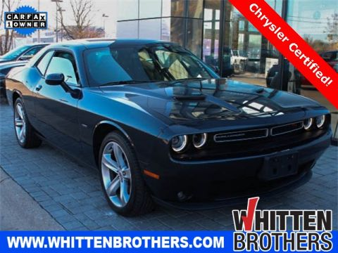 CERTIFIED PRE-OWNED 2017 DODGE CHALLENGER R/T RWD 2D COUPE