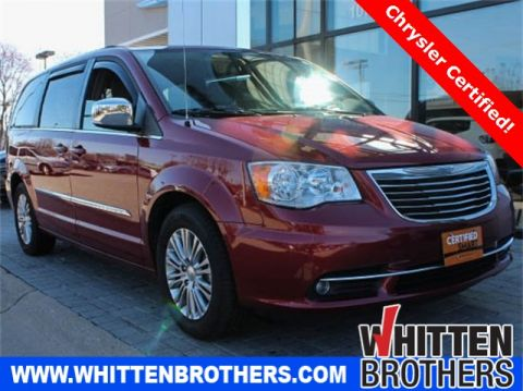 CERTIFIED PRE-OWNED 2015 CHRYSLER TOWN & COUNTRY TOURING-L FWD 4D PASSENGER VAN