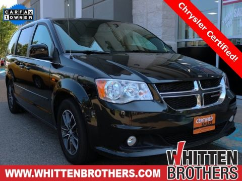 CERTIFIED PRE-OWNED 2017 DODGE GRAND CARAVAN SXT FWD 4D PASSENGER VAN