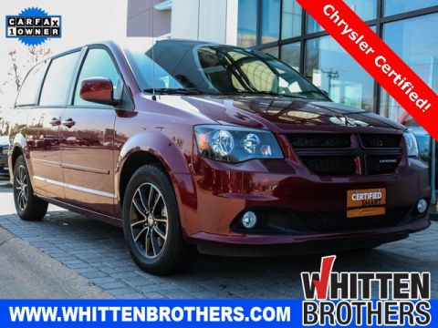 CERTIFIED PRE-OWNED 2017 DODGE GRAND CARAVAN GT WITH NAVIGATION