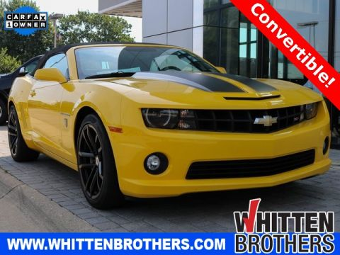 Pre-Owned 2011 Chevrolet Camaro SS