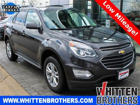 PRE-OWNED 2016 CHEVROLET EQUINOX LT FWD 4D SPORT UTILITY
