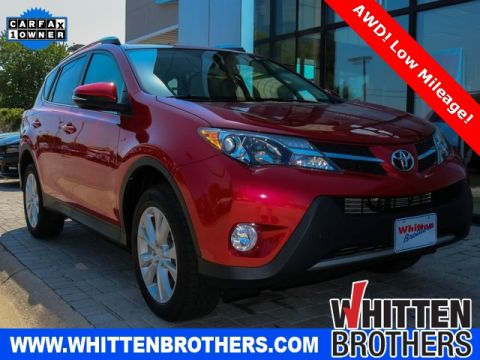 PRE-OWNED 2014 TOYOTA RAV4 LIMITED WITH NAVIGATION & AWD