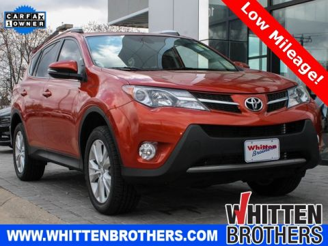 PRE-OWNED 2015 TOYOTA RAV4 LIMITED WITH NAVIGATION