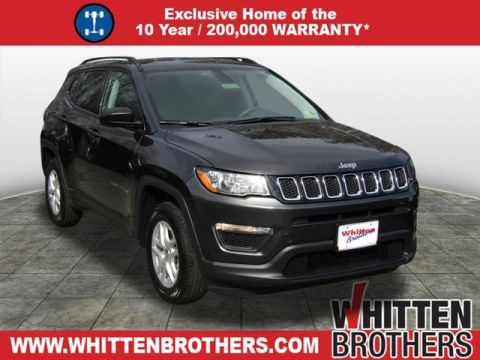 NEW 2018 JEEP COMPASS SPORT FWD 4D SPORT UTILITY