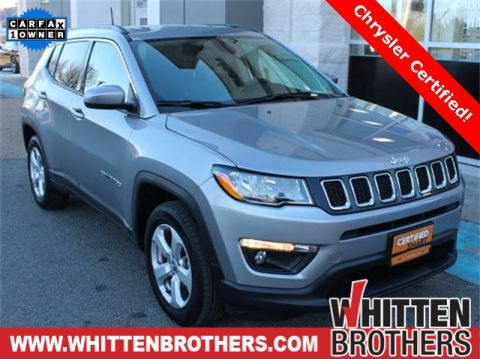 CERTIFIED PRE-OWNED 2017 JEEP NEW COMPASS LATITUDE 4WD