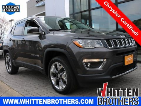 Certified Pre-Owned 2020 Jeep Compass Limited