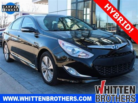 PRE-OWNED 2013 HYUNDAI SONATA HYBRID LIMITED WITH NAVIGATION