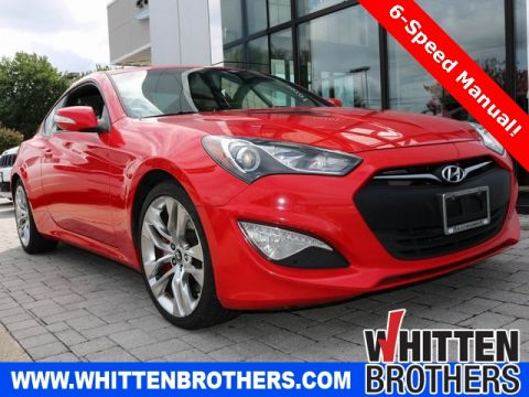 Pre-Owned 2015 Hyundai Genesis Coupe 3.8 R-Spec