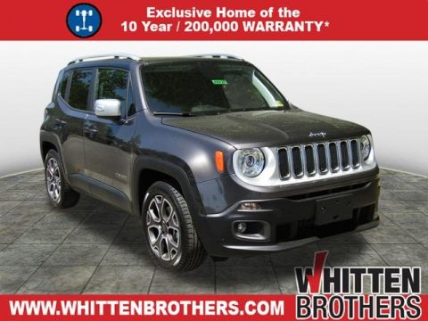 NEW 2018 JEEP RENEGADE LIMITED 4X2