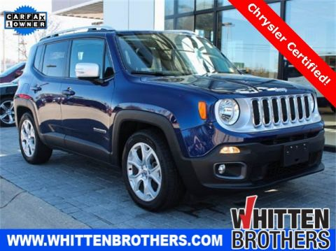 CERTIFIED PRE-OWNED 2016 JEEP RENEGADE LIMITED FWD 4D SPORT UTILITY