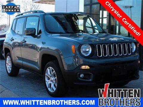 CERTIFIED PRE-OWNED 2017 JEEP RENEGADE LATITUDE 4WD
