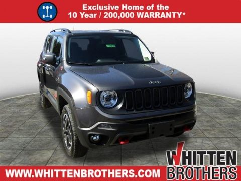NEW 2017 JEEP RENEGADE TRAILHAWK WITH NAVIGATION & 4WD