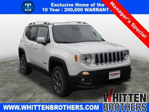 New 2017 JEEP Renegade Limited