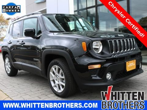 Certified Pre-Owned 2019 Jeep Renegade Latitude